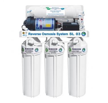 Система обратного осмоса и фильтрации воды BIO+systems RO-50-SL03