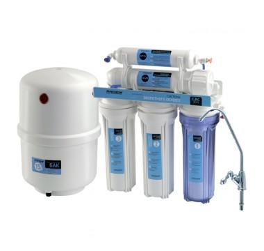 Система обратного осмоса и фильтрации воды CAC-ZO-5 (без насоса)