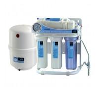 Система обратного осмоса и фильтрации воды CAC-ZO-5/G (без насоса с манометром)