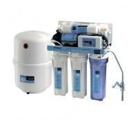 Система обратного осмоса и фильтрации воды CAC-ZO-5P/DD (с насосом и контроллером)