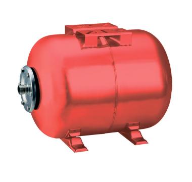 Гидроаккумулятор Wetron горизонтальный 50л  (779223)
