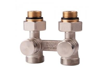 """Двухтрубный вентиль для панельного радиатора 1/2"""" ICMA арт.897"""