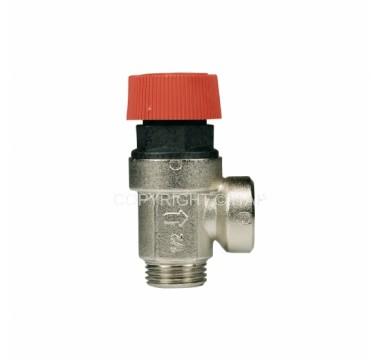 Клапан безопасности Itap 6 бар 1/2'' НВ PN10 никель