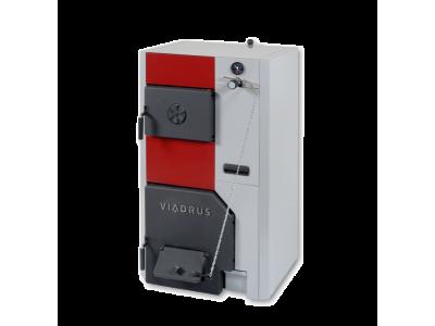 Твердотопливный котел Viadrus U24 (37-46кВт) 7 секций