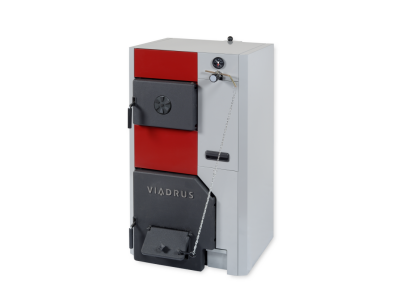 Твердотопливный котел Viadrus U24 (49-60кВт) 9 секций