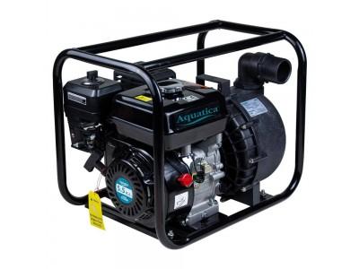 Мотопомпа 5.5л.с. Hmax 30м Qmax 38м³/ч (4-х тактный) для агрессивной среды AQUATICA (772539)