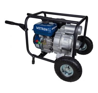 Мотопомпа Wetron 7.5л.с. Hmax 26м Qmax 60м³/ч (4-х тактный) для грязной воды (772557)