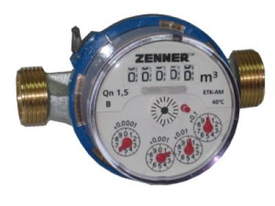 Cчетчик для холодной и горячей воды Zenner ET