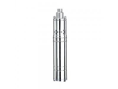 Насос шнековый 0.5кВт H 107(34)м Q 40(30)л/мин Ø96мм 10м кабеля WETRON (4QGDMw1.8-50-0.5) (778232)