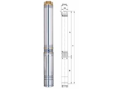 Скважинный центробежный насос Aquatica 777403