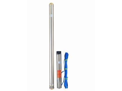 Насос скважинный с повышенной уст-тью к песку OPTIMA 4SD 8/36 5.5 кВт 209м 3-х фазный