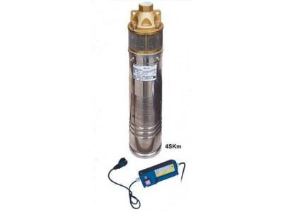 Насос скважинный вихревой VOLKS pumpe 4SKm150 1.1кВт + кабель 15м и пульт