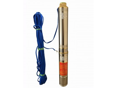 Насос скважинный с повышенной уст-тью к песку OPTIMA 4SDm3/ 9 0.55 кВт 65м, пульт+ 30м кабель NEW