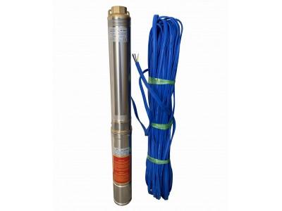 Насос скважинный с повышенной уст-тью к песку OPTIMA 4SDm3/11 0.75 кВт 80м, пульт + 50м кабель NEW