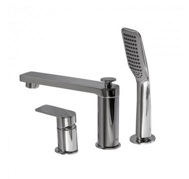 Смеситель для ванны TOPAZ SARDINIA-TS- 08111-H19 душевой комплект
