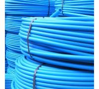 Труба ПЭ 100 Aquamarine (синяя) ф 32x2.4 мм PN 10