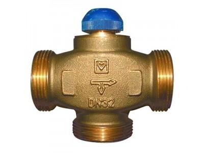 Клапан термостатический трехходовой HERZ CALIS-TS-RD (распределение потоков до 100%)
