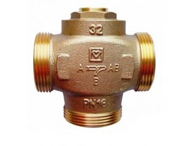 Трехходовой термосмесительный клапан HERZ-TEPLOMIX для повышения темпераутры обратной линии с отключаемым байпасом