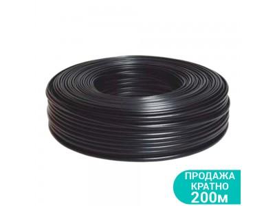 Кабель электрический для скважинных насосов H07RN -F круглый (3×0.75мм²) 200м DONGYIN 779942