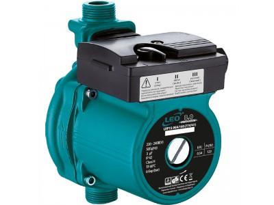 """Насос для повышения давления Leo 3.0 123Вт Hmax 9м Qmax 25л/мин ؾ"""" 160мм + гайки ؽ"""" (774741)"""