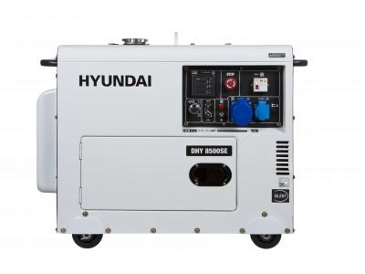 Генератор дизельный Hyundai DHY 8500SE