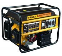 Генератор бензиновый Sigma, 5.0/5.5кВт, 4-х тактный, электрозапуск