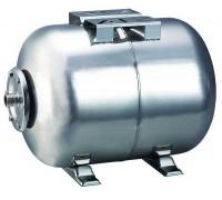 Гидроаккумулятор Cristal 100L горизонт. нержавейка