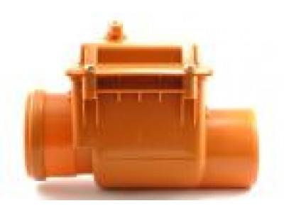 Запорный клапан канализационный Мпласт 110 для наружной канализации