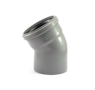 Колено канализационное Мпласт 110/30 для внутренней канализации