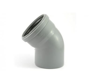 Колено канализационное Мпласт 110/45 для внутренней канализации