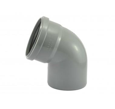 Колено канализационное Мпласт 110/67 для внутренней канализации