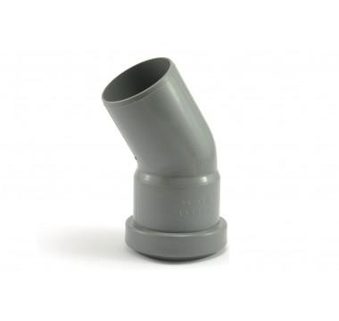 Колено канализационное Мпласт 50/30 для внутренней канализации