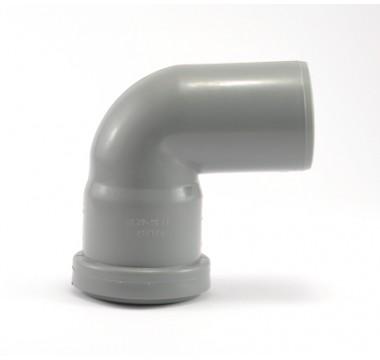 Колено канализационное Мпласт 50/87 для внутренней канализации
