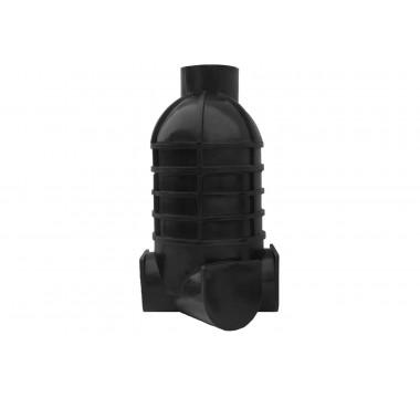Колодец канализационный смотровой Мпласт Ø110 Полусфера (конус)