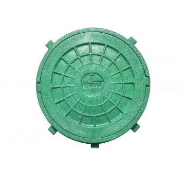 Люк смотровой Мпласт Ø620 (1,5Т) зеленый