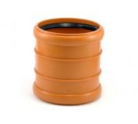 Муфта канализационная Мпласт 110 для наружной канализации