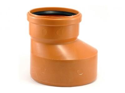 Редукция канализационная Мпласт 200/160 для наружной канализации