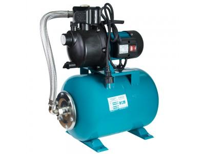 Насосная станция AquaticaLeo 0.6кВт Hmax 35м Qmax 50л/мин пластик (самовсасывающий насос) 24л Украина (775306/24)