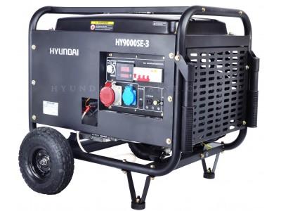 Генератор бензиновый Hyundai HY 9000SE-3