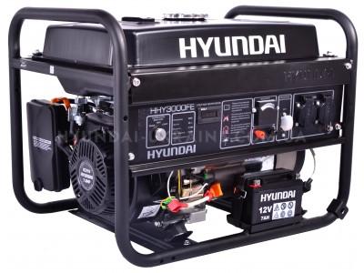 Бензиновый генератор Hyundai HHY 3000FE